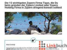 Tipps zur Firmengründung in Zypern