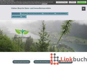 Vorschau auf Online-Shop für Natur- und Gesundheitsprodukte