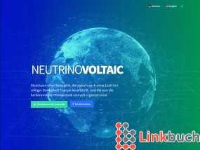 Vorschau auf NeutrinoVoltaic Technologie