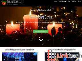 Vorschau auf Berlin Lichterfahrt - Berliner Lichterfahrten Weihnachtsfeier