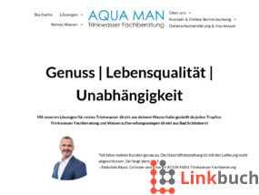 Vorschau auf Aqua Man Trinkwasser Fachberatung