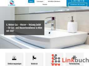 Vorschau auf G. Weiner Gas - Wasser - Heizung