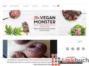 Vorschau auf Das Vegan Monster | Vegane & Glutenfreie Rezepte, Grüner Leben