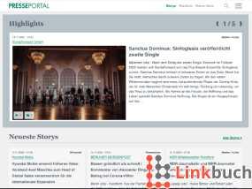 Plattform für Pressemitteilungen und Pressemeldungen