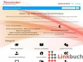 Vorschau auf Webkatalog Verzeichnis4you.de