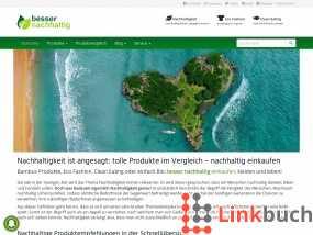 Vorschau auf Besser nachhaltig leben! Blog für Nachhaltigkeit