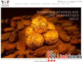 Luxuriöse Goldgeschenke, Innenausbau und Design mit Gold -Delafee