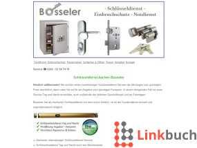 Vorschau auf Bosseler Schlüsseldienst Aachen 24h Schlüsselnotdienst