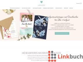 Hochzeits Einladungen LarisDesign