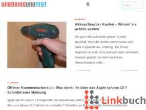 Unboxingundtest.de - Tests und Beratung