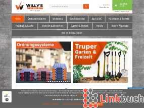 Willy's Fachmarkt Onlineshop