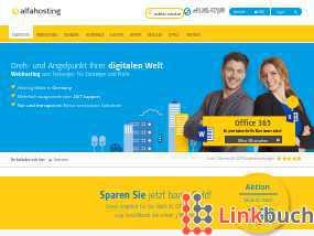 Vorschau auf Günstige Hosting-Angebote - Alfahosting.de
