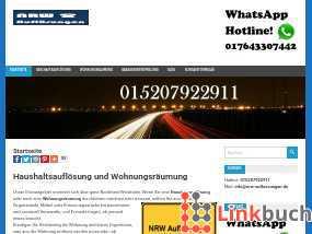 Vorschau auf Geschäftsauflösung und Wohnungsräumung in Nordrhein-Westfalen