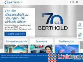 Vorschau auf Measurement Solutions from the experts - Berthold Technologies