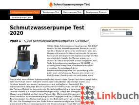 Schmutzwasserpumpe Test mit Modellvergleich